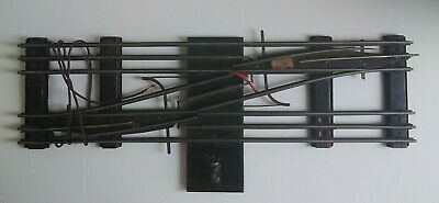 £29.99 • Buy HORNBY O Gauge 3-Rail Double Track Crossover Points - Untested