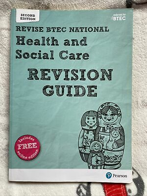 £4.99 • Buy BTEC National Health And Social Care Revision Guide: Second... By Shaw, Georgina