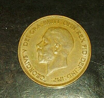 £14.99 • Buy 1936 George V One Penny Coin High Grade Coin
