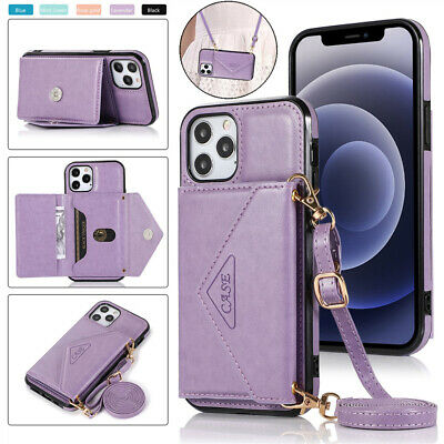 AU14.59 • Buy For IPhone 12 Pro Max 11 8/7/6 XR X Magnetic Leather Wallet Card Case Back Cover