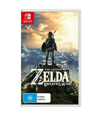AU50 • Buy The Legend Of Zelda: Breath Of The Wild Switch New With Poster
