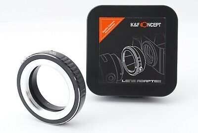 $21.99 • Buy K&F Concept Adapter For Leica M39 Mount Lens To Fujifilm X-Pro2,X-A2etc From J.P