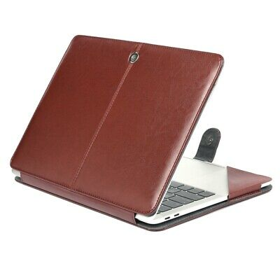 $17.58 • Buy For MacBook Pro 13.3Inch Case PU Leather Carrying Book Folio Protective Cover US