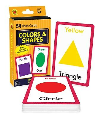 £3.74 • Buy Baby Book Colors Shapes Picture Flash Cards Kids Educational Pre School Learning