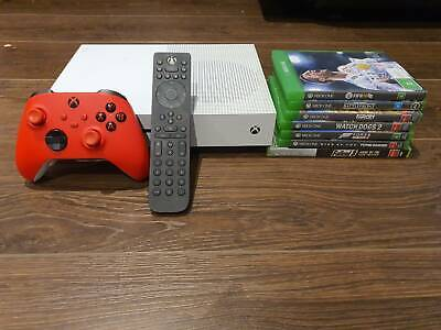 AU203.50 • Buy Xbox One S 2TB + Series X Controller + Games