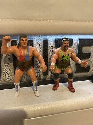 £44.99 • Buy WCW:  The Steiner Brothers  Scott & Rick - Rare Wrestling Figures Galoob 1991
