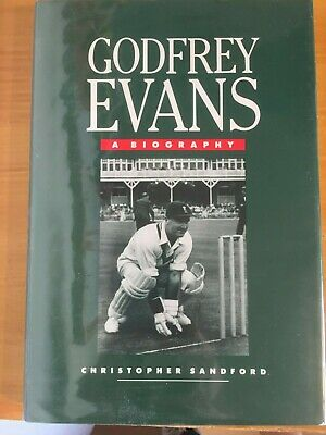 £3.99 • Buy 1990 Signed Godfrey Evans A Biography Kent & England 1st Edition Vgc