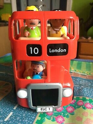 £8.50 • Buy **ELC Happyland London Bus Set With Figures & Fab Working Sounds**