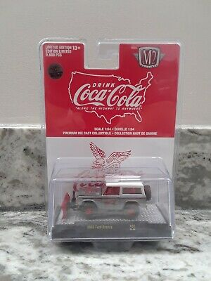 $142.50 • Buy 1966 FORD BRONCO COCA COLA COKE 2021 M2 MACHINES RAW SUPER CHASE 1 Of 250 MADE