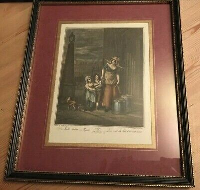 £15 • Buy Vintage Antique 'cries Of London' Lithograph Print - Francis Wheatley