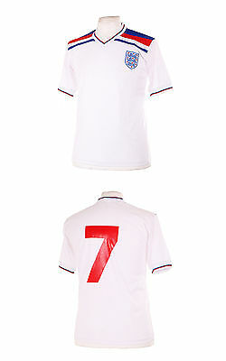 £26.99 • Buy England 1982 World Cup Style Number 7 Keegan Retro Football Shirt L Large