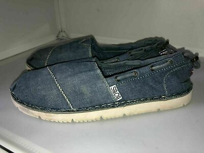 £17.90 • Buy Bobs From Skechers Memory Foam Shoes Size 4.5/37.5 Blue Jeans In Good Condition