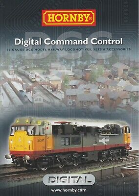 £2.99 • Buy Hornby OO 4mm DCC Digital Command And Control Booklet 2013
