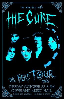 £2 • Buy The Cure Vintage Poster A5