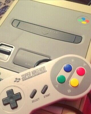 £30 • Buy SNES No Wires, One Controller Untested By But Working When Purchased 2 Years Ago