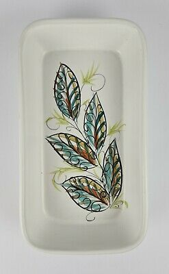 £4.99 • Buy Denby Stoneware Dish 'Leaves' Design By Glyn Colledge Glyn Ware