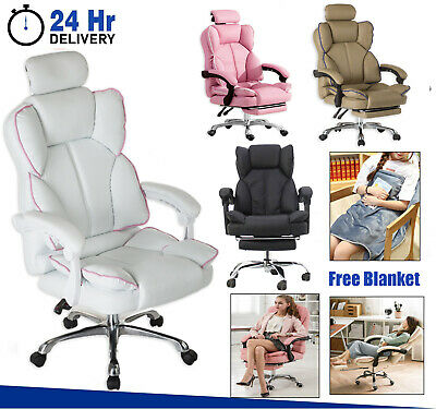 AU179.99 • Buy Office Chair Gaming Chair Computer  Recliner Chairs Executive Work Seating Study
