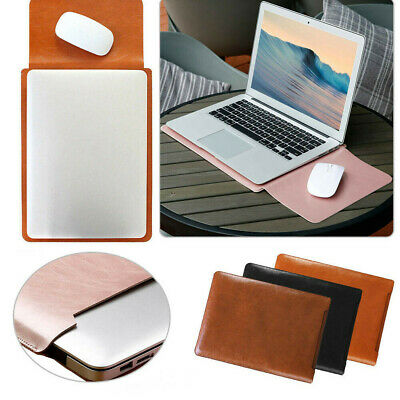 AU25.69 • Buy Universal Notebook Laptop Carry Bag Leather Sleeve Case For13 Macbook Air/Laptop