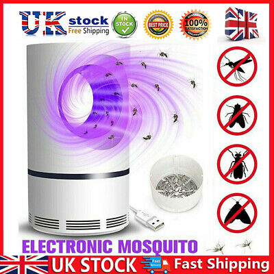 £9.60 • Buy Inhalation Electric Insect Mosquito Fly Killer Home Indoor Pest Catcher Trap UK