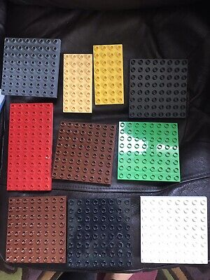 £9.99 • Buy Lego DUPLO Various Size Base Boards Plates Squares Rectangles