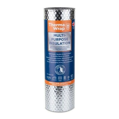 £15 • Buy Thermawrap Insulation Foil Roll  General Purpose Wrap 600mm X 7.5m