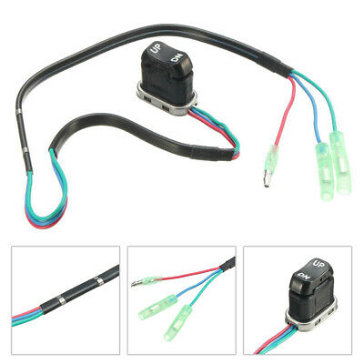 AU24.25 • Buy For Outboard Motor Parts Power Trim Tilt Switch Assembly Kit Boat Type Newest