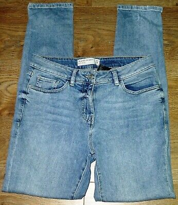 £4.50 • Buy ✿Ladies NEXT Blue Stretch Relaxed Skinny Denim Jeans Size 12L✿
