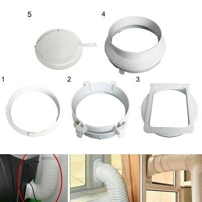 AU16.75 • Buy 15cm/5.91   Exhaust Duct Interface Portable Air Conditioner Hose Tube Connector
