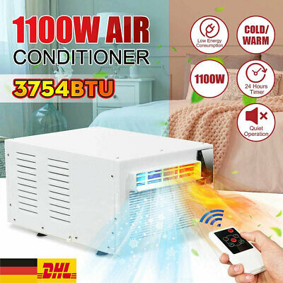 AU507.25 • Buy 1100W Window Refrigerated Air Conditioner Cooler Heating Warm Dehumidification