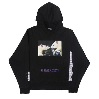 """£55.57 • Buy *SUPER RARE* Drop Dead Apparel """"is This A Test"""" Rat Hoodie"""