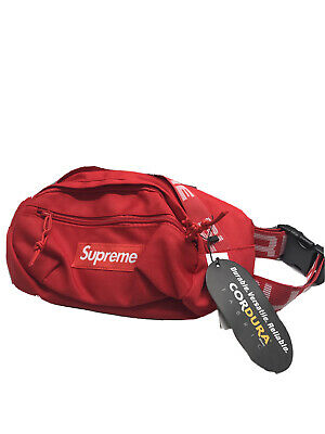 $ CDN298.72 • Buy Supreme SS18 Waist Bag In Red- Authentic- NEW Condition With Tags
