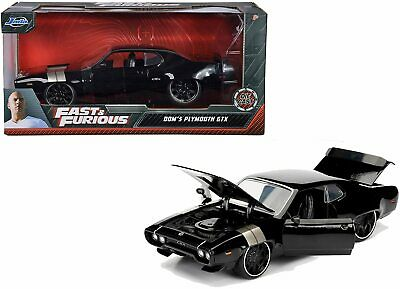 AU57.99 • Buy Fast And Furious 8 - Dom's '72 Plymouth GTX 1:24 Scale Hollywood Ride
