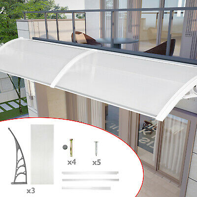 £54 • Buy 200cm Door Canopy Awning Shelter Rain Cover Front Back Porch Outdoor Patio New