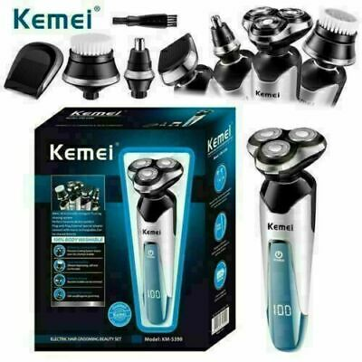 £22.99 • Buy Electric Shaver Mens Razor Rotary Shaver Cordless Wet Dry Rechargeable KEMEI