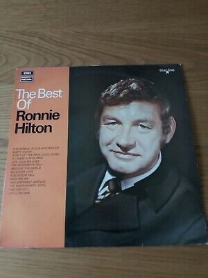 £1.50 • Buy The Best Of Ronnie Hilton LP Record, (signed)