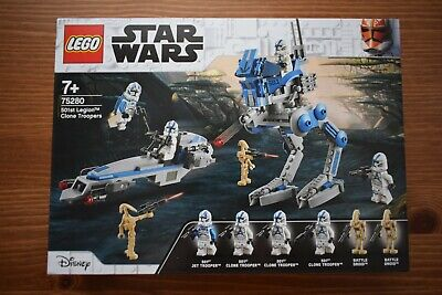 £22.95 • Buy LEGO 75280 Star Wars 501st Legion Clone Troopers, 285 Pieces | BRAND NEW |