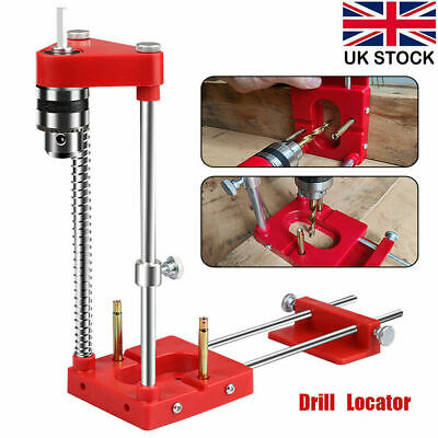 £22.99 • Buy Adjustable Mini Bench Woodworking Drill Locator Punch Locator Template Guide