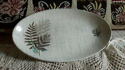£10 • Buy Vintage J And G Meakin Sol Small Oval Plate.