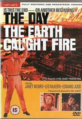 £1.80 • Buy The Day The Earth Caught Fire DVD New Sealed, Network Release, Edward Judd,
