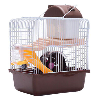 £13.99 • Buy Large Hamster Cage Gerbil Mouse Mice Small Pet Cages 2 Tiers Storey Level Hutch