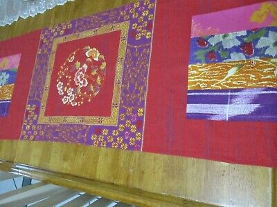 """AU24.34 • Buy Bassetti Floral Table Runner Dining Decor 15""""x70"""" 100% COTTON BEAUTIFUL"""