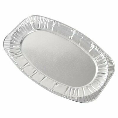 £8.49 • Buy Oval Aluminium Foil Tray Buffet Disposable Party Serving Food Platters X 10
