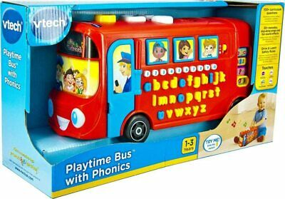 £20.50 • Buy Vtech 150003 Playtime Bus Educational Playset, Learning Toy With Phonic Sounds,