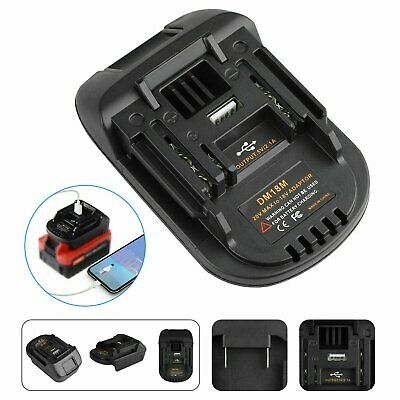 AU20.99 • Buy Battery Adapter For Makita Lxt Tools Convert To Milwaukee M18 18V Battery