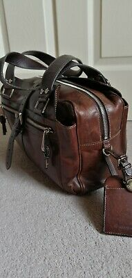 £200 • Buy Mulberry Mabel Chocolate Brown  Leather Shoulder Bag