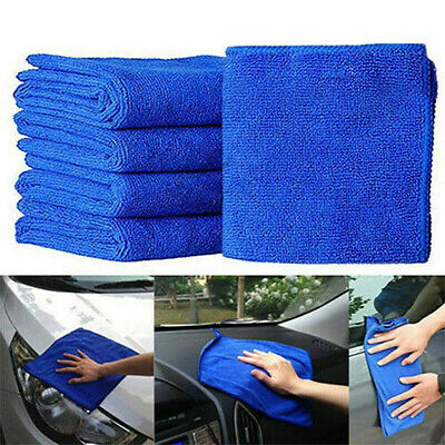 £5.89 • Buy 50 Pack Microfiber Towel Rag Cleaning Clothes No-Scratch Car Polishing Detailing