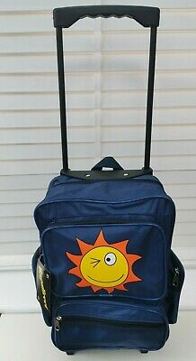 £12.99 • Buy Kids Cabin Hand Luggage Trolley Case SUNFACE Wheeled Backpack Travel Bag Holdall