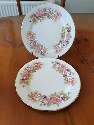 £3 • Buy 2   Colclough ' Wayside ' Side Plates