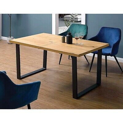 AU150.95 • Buy Square-Shaped Table Bench Desk Legs Retro Industrial Design Fully Welded Black
