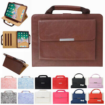 £9.17 • Buy For Apple IPad Pro 12.9  11  10.5  Smart Leather Handbag Wallet Stand Case Cover